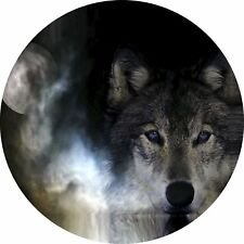 4x4 Spare Wheel Cover 4 x 4 Camper Camper Graphic Vinyl Sticker Wolves 90
