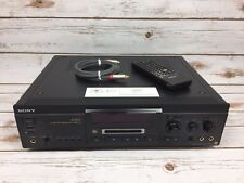 Sony MDS-JA3ES MiniDisc Deck Audiophile ES Recorder /w Remote and Optical Audio