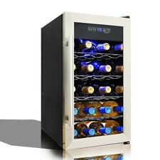 Nutri-Chef Electric Wine Cooler - Wine Chilling Refrigerator Cellar (18-Bottle)