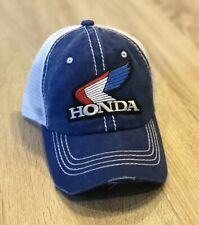 NEW Honda Trucker Hat Cap Mesh Adjustable SnapBack Racing Embroider Patch Style