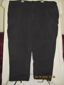 PROPPER Military EMT 1st Responder Utility Cargo 6 Pocket Black Pants 3XL Reg