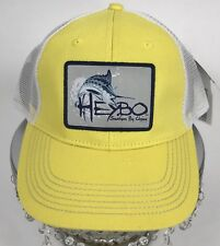 HEYBO Marlin Patch Two Tone Trucker Hat-Cap Men One Size Mesh SnapBack