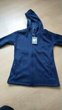 hi tech fisher knitted jacket large navy