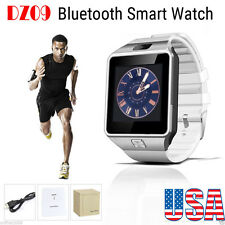 Dz09 Bluetooth Smart Watch Phone Camera Mate Sim Sim For Android iPhone Samsung