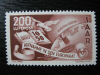 SAAR SAARLAND Mi. #298 scarce mint stamp! CV $120.00