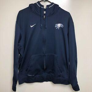 Nike Hoodie Women's L Navy Blue Philadelphia Eagles NFL Football
