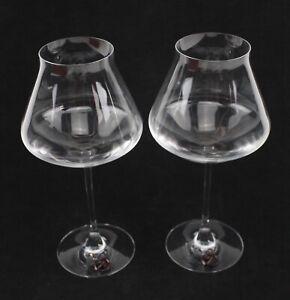 NIB Baccarat Crystal Chateau Baccarat XL Wine Glass Set