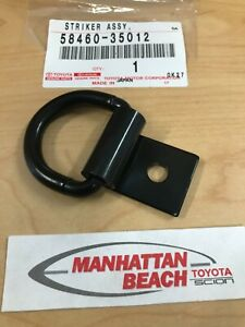 NEW OEM CARGO AREA D-RING TIE DOWN 58460-35012 GENUINE TOYOTA ACCESSORY