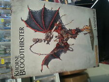 WARHAMMER 40K / AGE OF SIGMAR KHORNE BLOODTHIRSTER CHAOS DAEMONS - NEW & SEALED