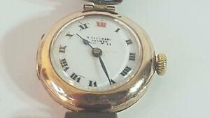 Smart 1930s Rolex 9ct Gold Case Wristwatch for A. Saunders, Sydney, Australia