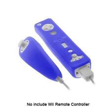 Full Cover Silicone Remote Controller TPU Nunchuck Case For Nintendo Wii, Wii U