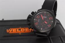 Welder K24 3303 Chronograph Black PVD Watch with Box K-24
