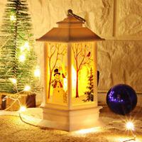 Christmas LED Candle Lantern Xmas Lamp Decor DIY Home Party Gift Decoration