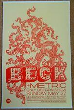 Beck 2012 Gig Poster Bend Oregon Concert