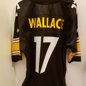 MIKE WALLACE Pittsburgh Steelers NFL AUTHENTIC  REEBOK JERSEY ADULT LARGE