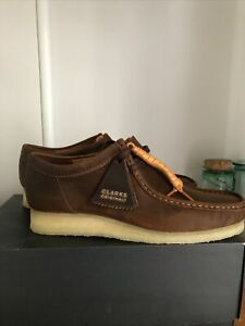 Clarks Wallabees Beeswax Uk 8 New