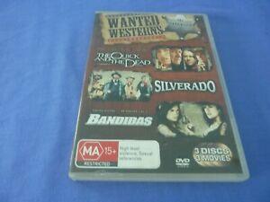 The Quick and The Dead / Silverado / Bandida DVD Sharon Stone Penelope Cruz R4