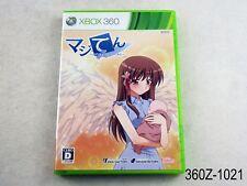 Majiten Maji de Tenshi wo tsukutte mita Xbox 360 Japanese Import Ten US Seller