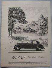 1946 Rover Original advert No.4