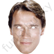 Arnold Schwarzenegger Politician Mask Celebrity Card. All Our Masks Are Pre-Cut!