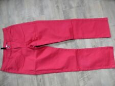 H&M DIVIDED schöne leichte 7/8 Jeans rot Gr. 36 TOP RJ917