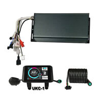 48V 60V 72V 3000W-5000W 100A eBike Controller & Color LCD Display With Bluetooth