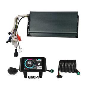 48V-72V 3000W-5000W 100A eBike Sabvoton Controller &Color LCD Display Bluetooth