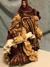 Fabrique Cloth Nativity Set Joseph Mary Jesus
