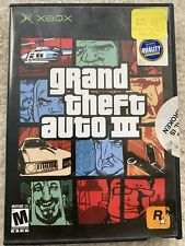 Xbox Grand Theft Auto Iii Blockbuster Exclusive Variant Xbox 2003 Rare Tested