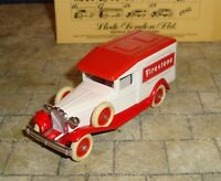 LLEDO - DAYS GONE - 1936 PACKARD VAN -   FIRESTONE  -  BOXED