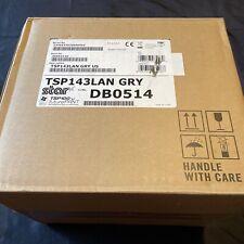 New Listingnew Star Micronics Tsp143 Lan Direct Thermal Printer Tsp143lan Gray