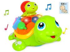 Interactive Toy parent-enfant tortue pour bébé stimuler les sens Cadeau