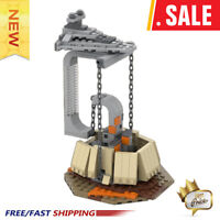 MOC-40356 Tensegrity Sculpture Star Wars Destroyer The Empire Over Jedha City