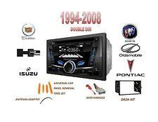 1994-2008 HUMMER PONTIAC BUICK CADILLAC Bluetooth Stereo 2 Din Dash Kit USB AUX