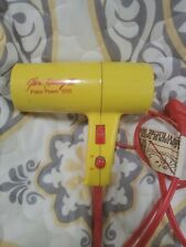 Professional Jheri Redding II Travel 1250 Folding Hair Dryer Portable Yellow i1
