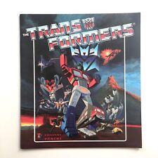 PANINI TRANSFORMERS 1986 EMPTY Sticker Album DUTCH Language Version