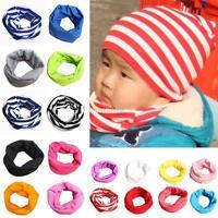 Kids Baby Boys Girls Warm Scarf Cotton Neck Shawl Neckerchief Toddler Scarves