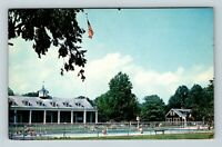 Weston WV, State 4-H Camp At Jackson Mills, Pool, Chrome West Virginia Postcard