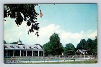Weston WV, State 4-H Camp At Jackson Mills, Pool, Chrome West Virginia Postcard
