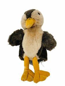 "Folkmanis Plush Mallard Duckling Hand Puppet Baby Duck 10"" Full Body Stuffed Toy"