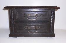 Kleine Kommode Model Möbel Mobeliar Mustermöbel Entwurf um 1890 Vintage Deko !