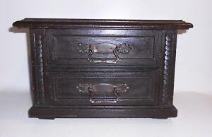 Small Dresser Model Furniture Mobeliar Mustermöbel Design Um 1890 Vintage Decor