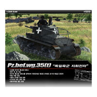 ACADEMY #13313 1/35 Plastic Model Kit  Kit Pz.bef.wg. 35(t) German Command Tank