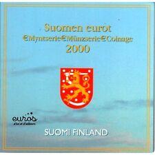 Set BU officiel FINLANDE 2000 - Série 1 centime à 2 euros - Neuf