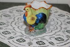 Vintage. Rooster. Mini Planter/Toothpick Holder. Made In Japan