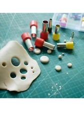 M00729 MOREZMORE 40 Mini Hole Circle Cutters Punch Die Steel Metal Clay Tools