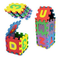 36 Pcs Baby Kids Educational Alphabet Letters Number Puzzle Mats Child Toy Gift