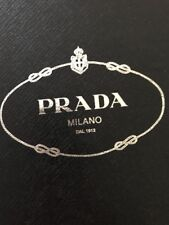Prada ladies leather wedge sandals size 35 - Uk 3