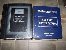 1987 Mercury Cougar Grand Marquis Lynx Sable Topaz Parts Catalog Manual Manual