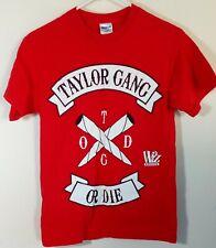 Wiz Khalifa TGOD Taylor Gang Or Die T Shirt Size S